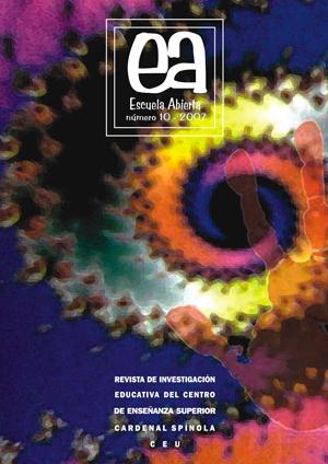 Ver Vol. 10 (2007): Escuela Abierta, 10