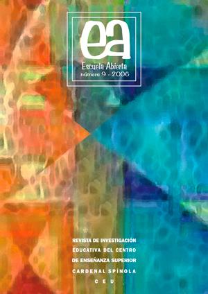 Ver Vol. 9 (2006): Escuela Abierta, 9