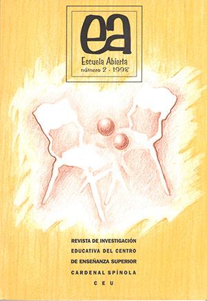 Ver Vol. 2 (1999): Escuela Abierta, 2