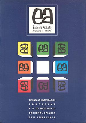 Ver Vol. 1 (1998): Escuela Abierta, 1
