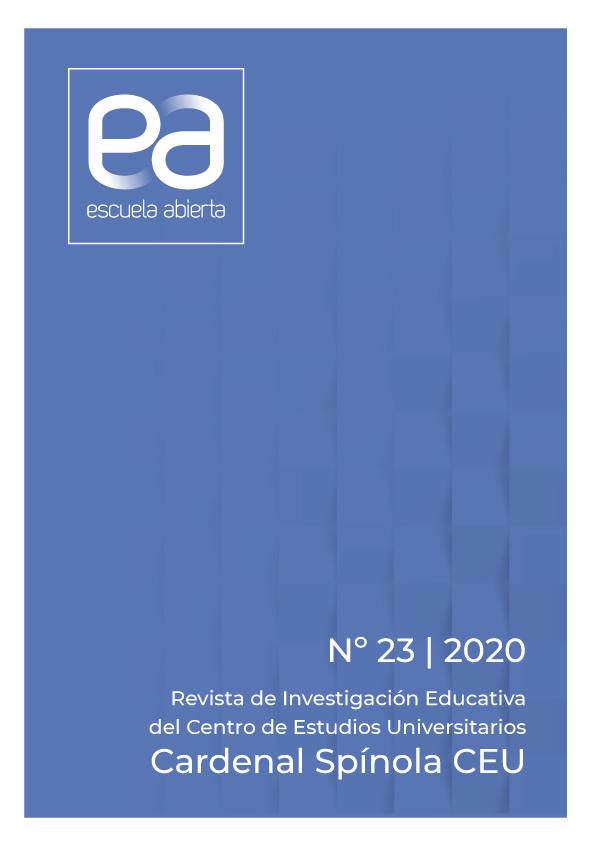 Ver Vol. 23 (2020): EA, Escuela Abierta, 23