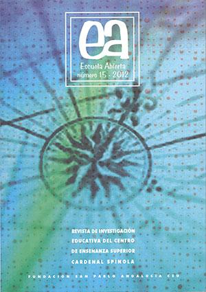 Ver Vol. 15 (2012): Escuela Abierta, 15