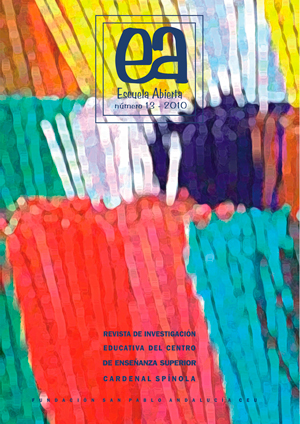 Ver Vol. 13 (2010): Escuela Abierta, 13